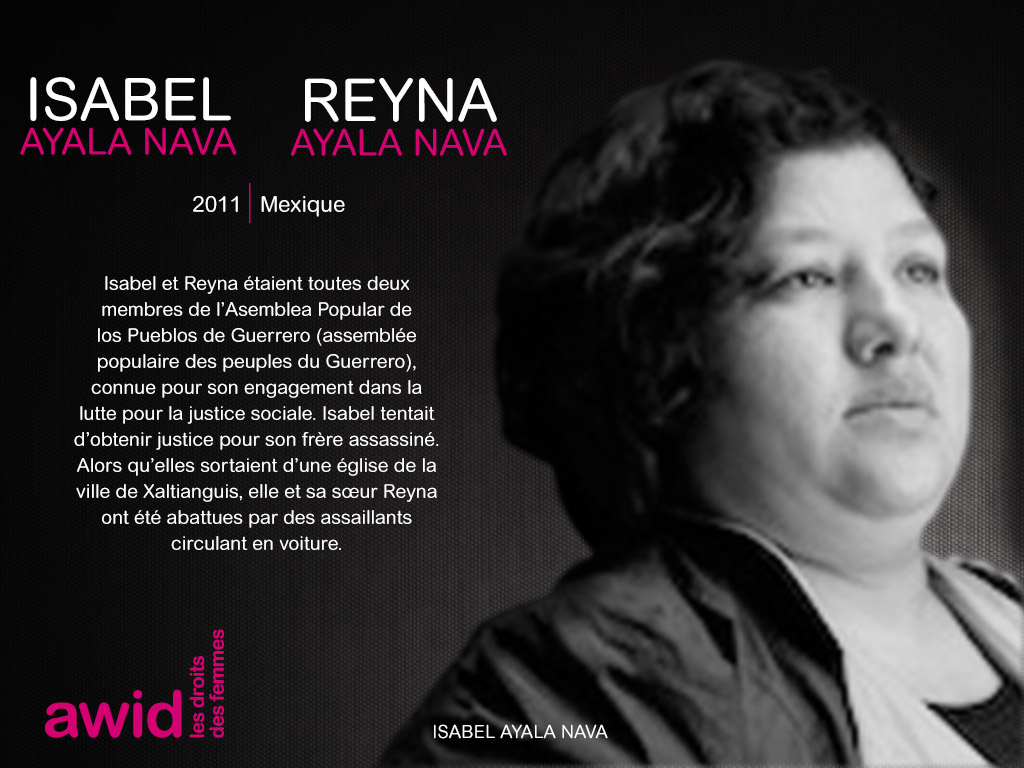 Isabel et Reyna Ayala Nava