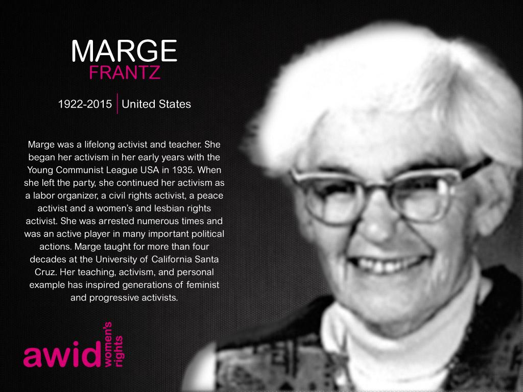 Marge Frantz