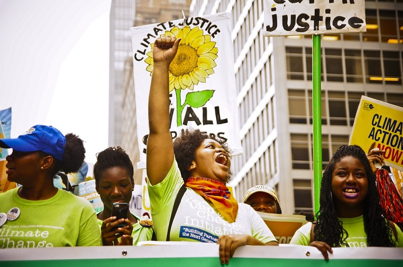 Women climate justice