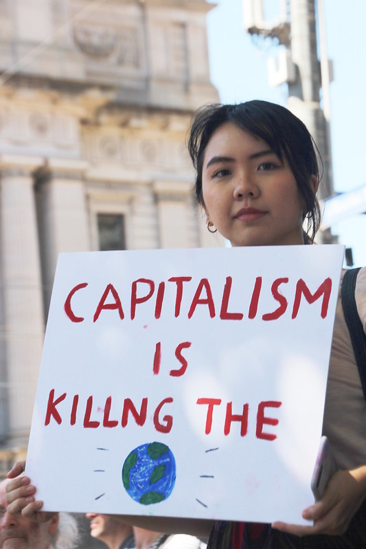 Capitalism is killing the earth
