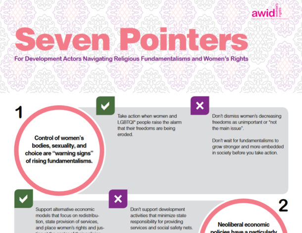 Seven Pointers for Development Actors Navigating Religious Fundamentalisms and Women's Rights