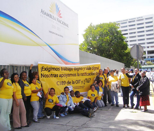 IDWF Convention 189 of the ILO - Ecuador (610x470)