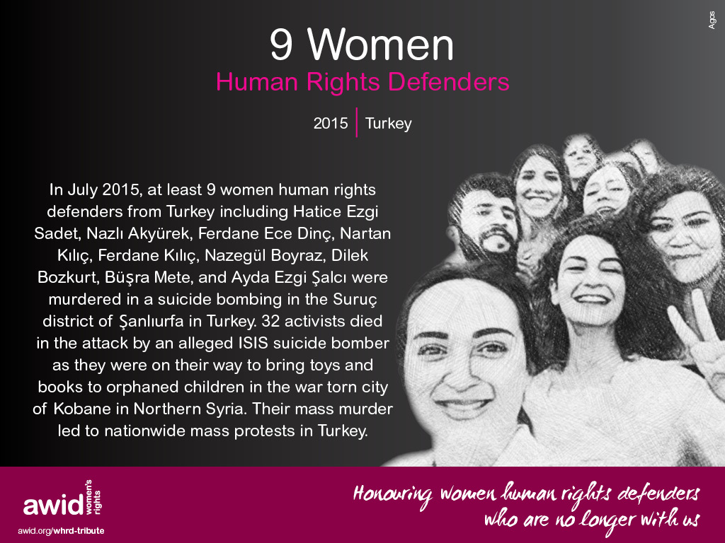 9 Women Human Rights Defenders (EN)