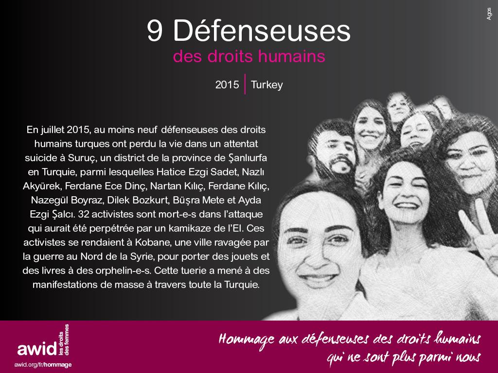 9 Défenseuses des droits humains (FR)