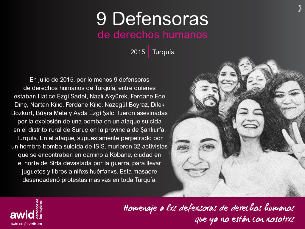 9 Defensoras de derechos humanos (SP)