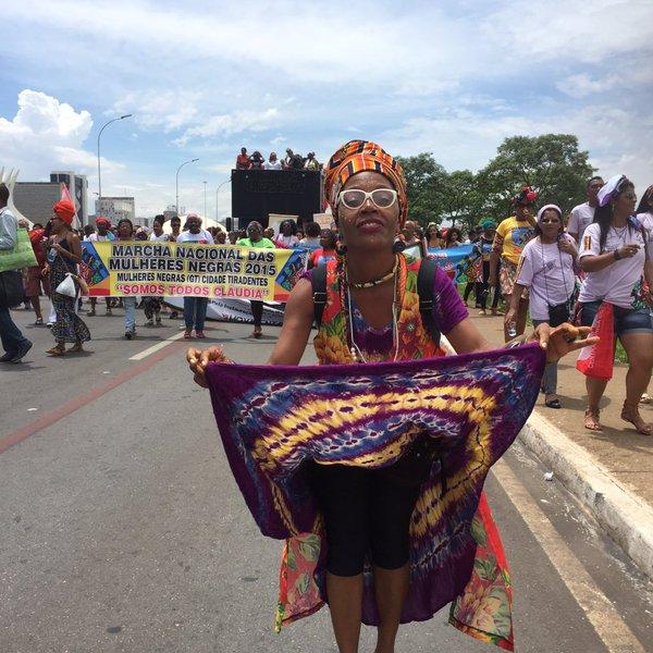 Black women's march 1