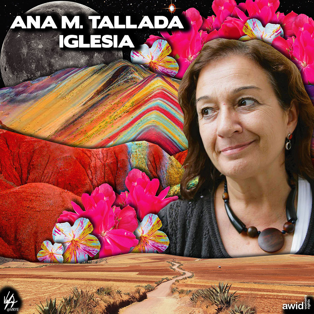 "<strong>Ana </strong>was a strong advocate of women's rights and worked with women in grassroots networks to those in the private sector. She believed in building bridges across sectors. <br /><a href=""https://www.awid.org/whrd/ana-m-tallada-iglesia"" title=""WHRD: Ana M. Tallada Iglesia"">Read more ></a>"