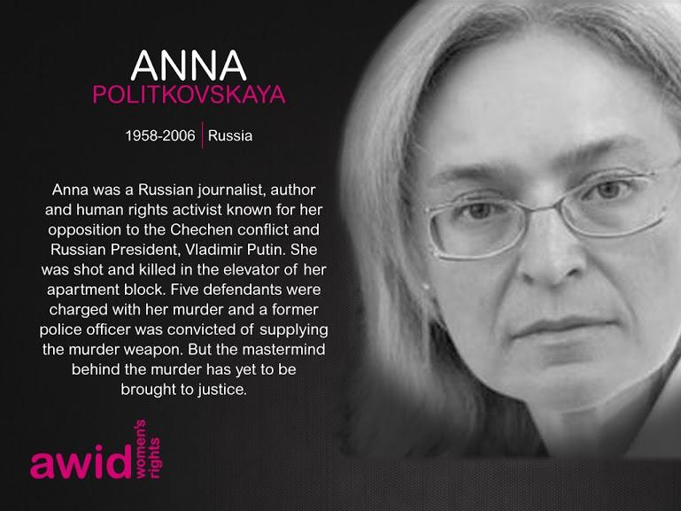 Anna Politkovskaya ENG
