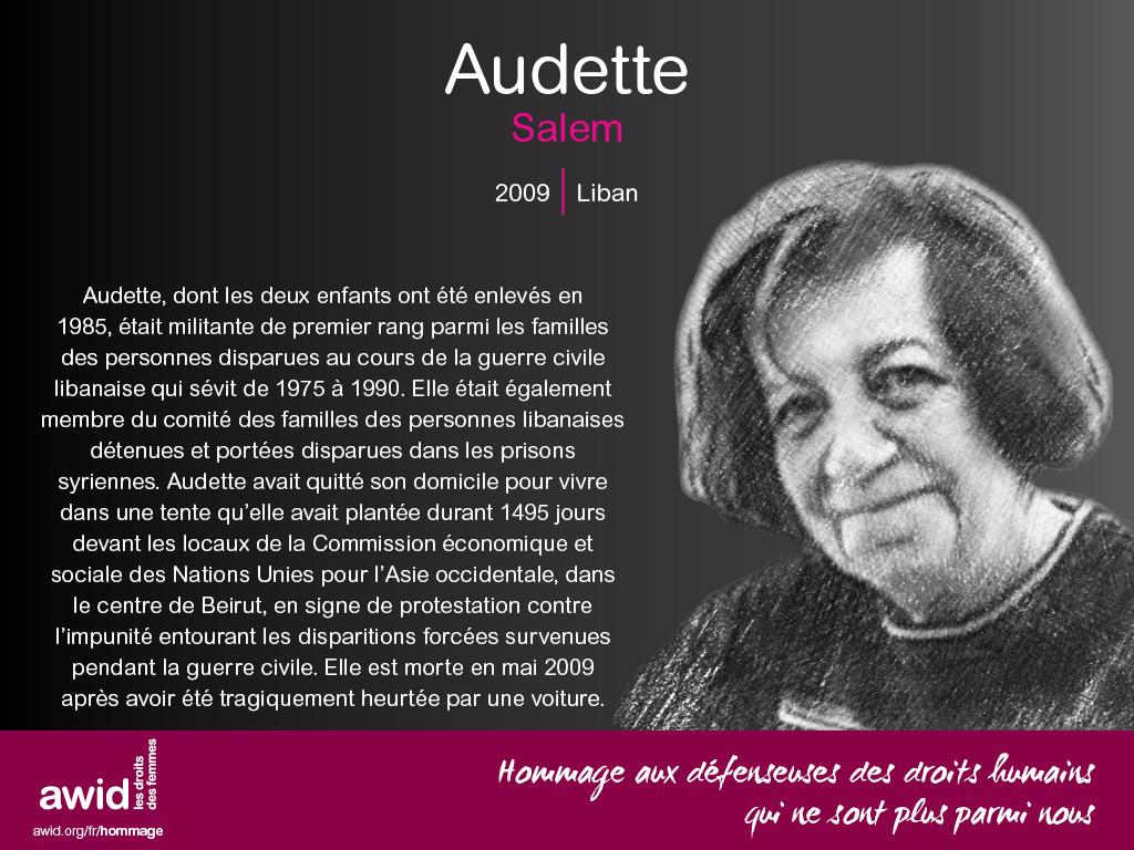 Audette Salem (FR)