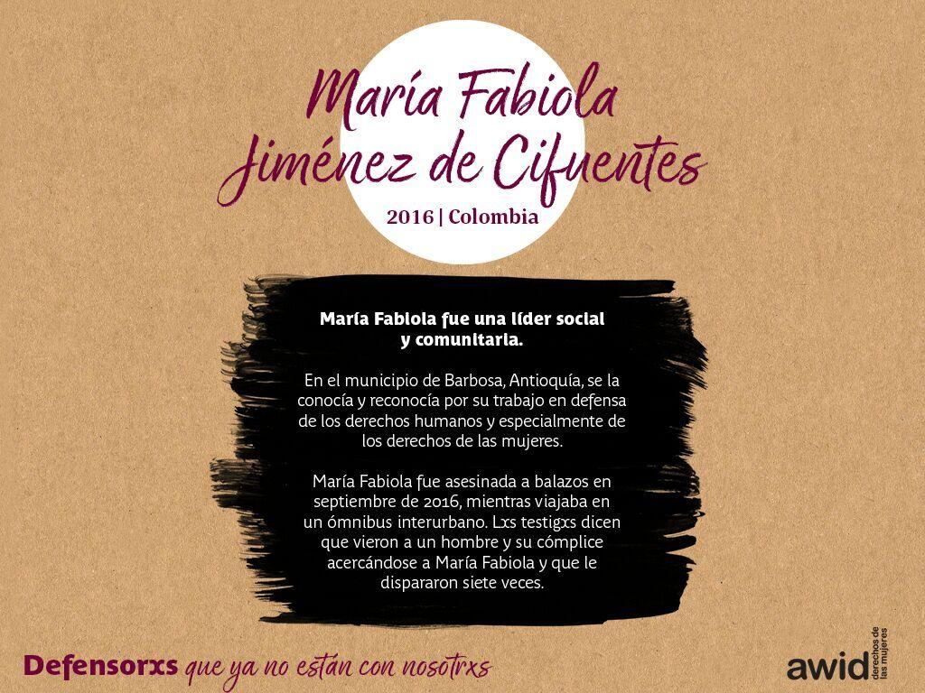 María Fabiola Jiménez de Cifuentes (SP)