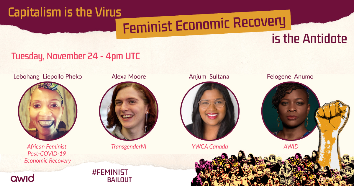 Bailout: Feminist Economic Recovery webinar - ENG
