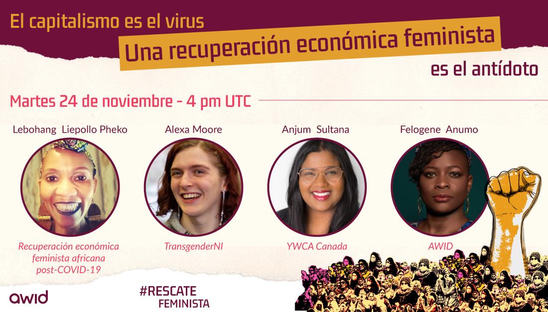 Bailout: Feminist Economic Recovery webinar - ESP