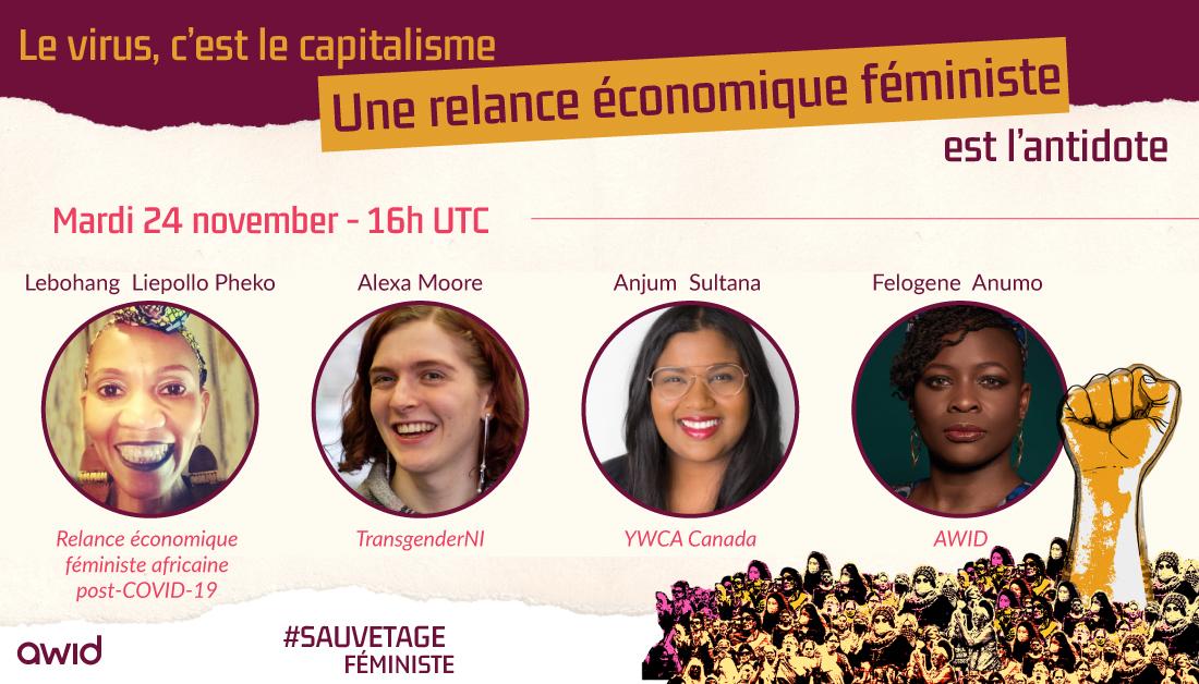 Bailout: Feminist Economic Recovery webinar - FRA