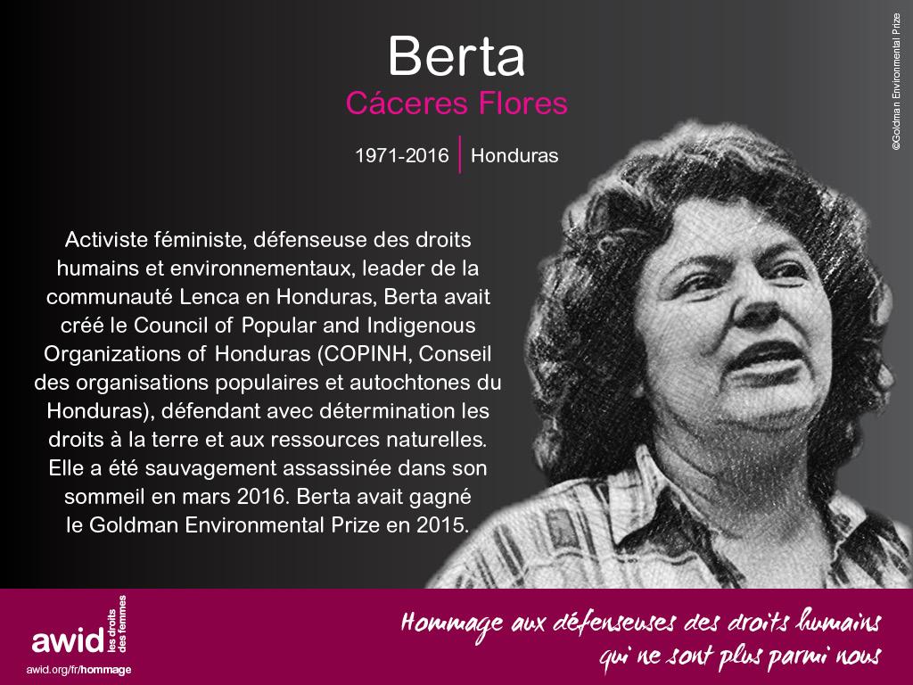 Berta Caceres (FR)