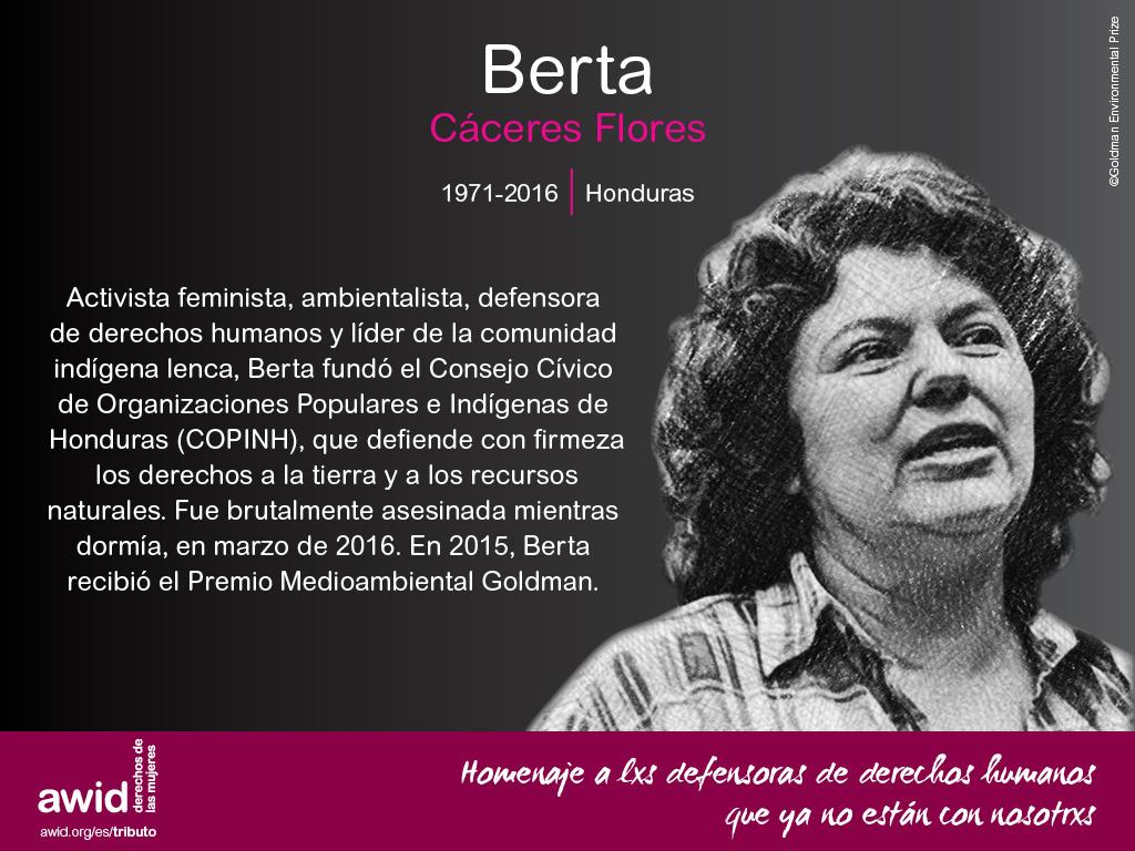 Berta Caceres (SP)