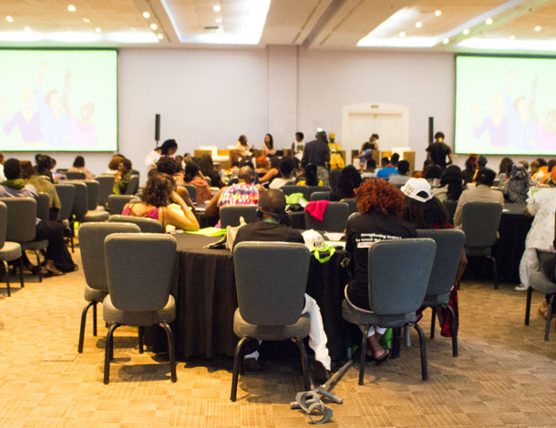 Participants in the room at the Black Feminisms Forum (BFF) - None on Record - 610x470