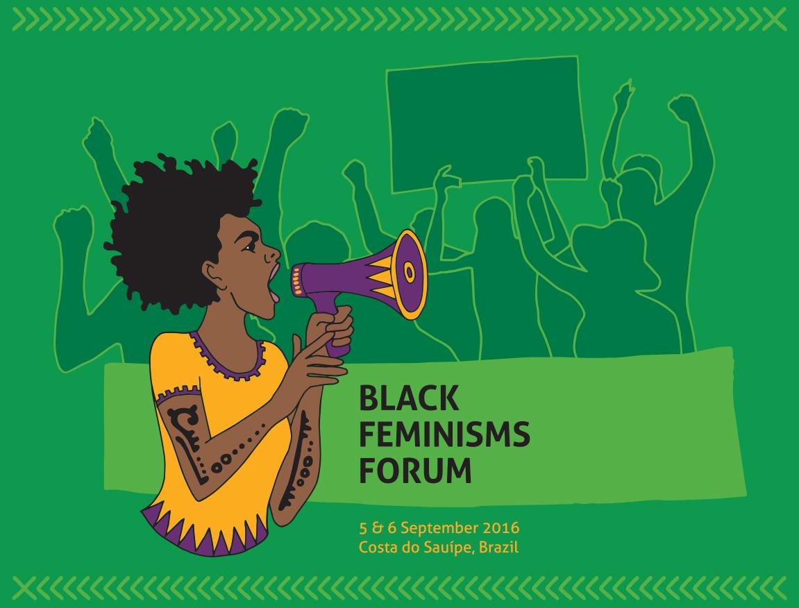 Black Feminisms Forum - Megaphone - Graphic