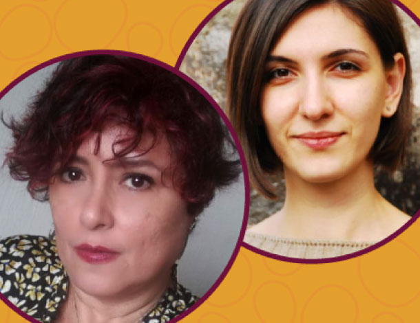 2020 new board members - Claudia Montserrat Arévalo Alvarado & Salome Chagelishvili