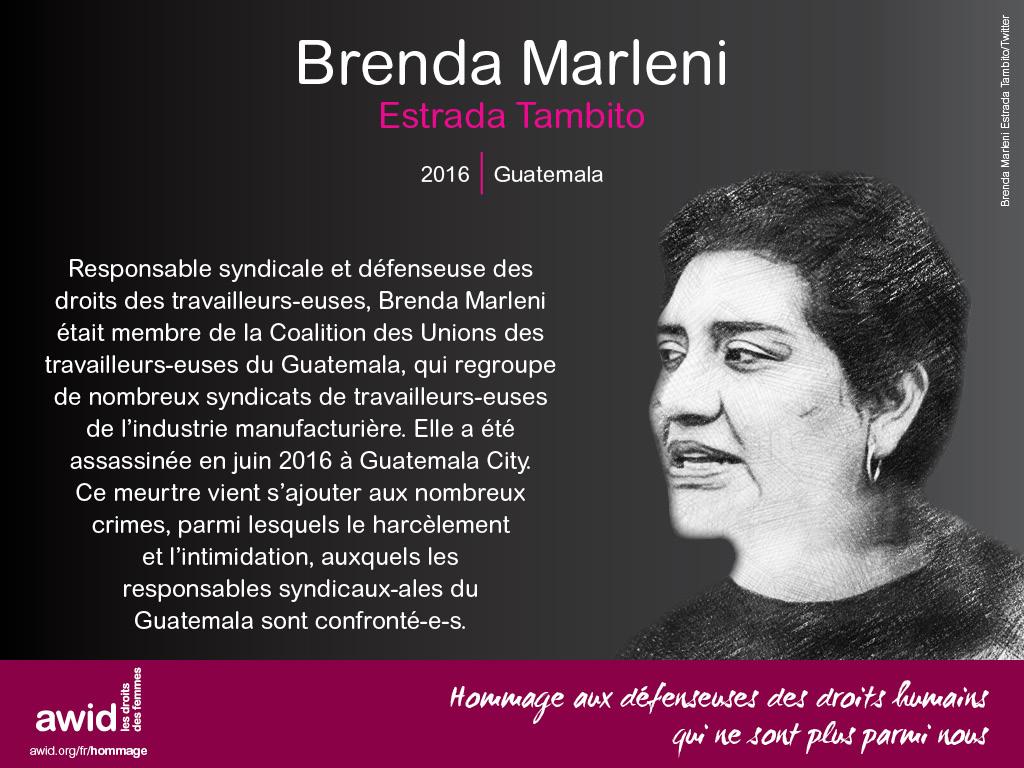 Brenda Marleni Estrada Tambito (FR)