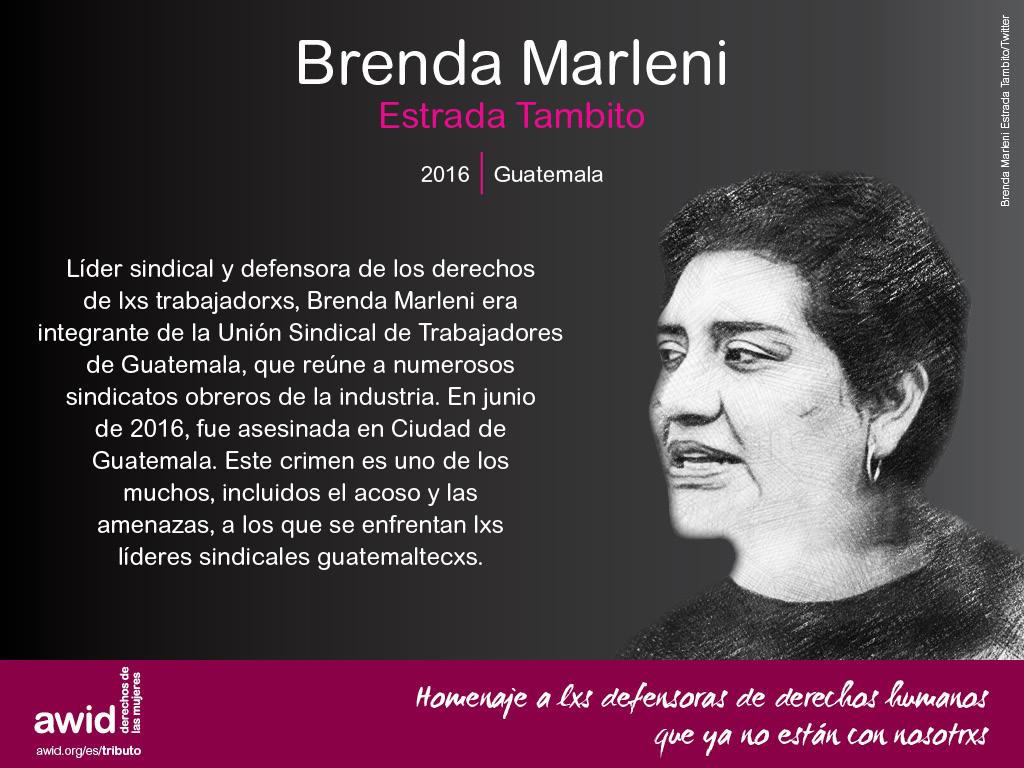 Brenda Marleni Estrada Tambito (SP)