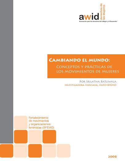 Cambiando el mundo_SP cover