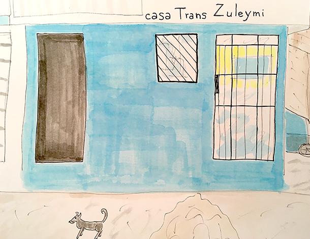 Casa Trans Zuleymi - Blue house (610x470)