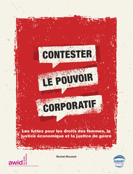 Challenging Corporate Power - Cover (FRENCH)