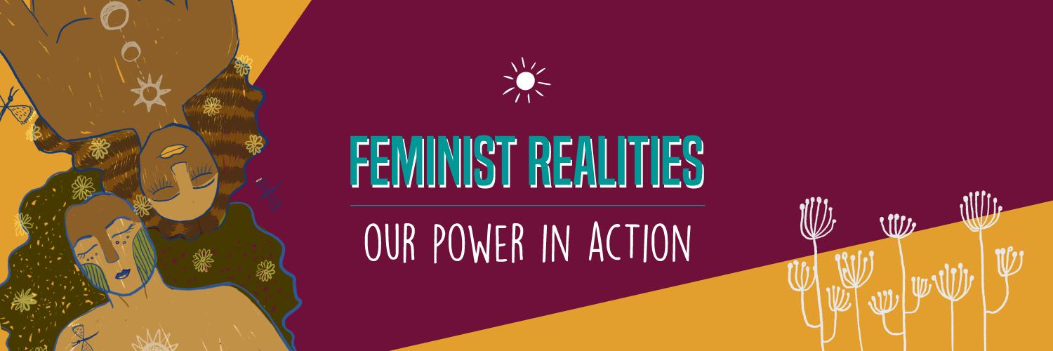 CFR Toolkit banner - Feminist Realities, our power in action