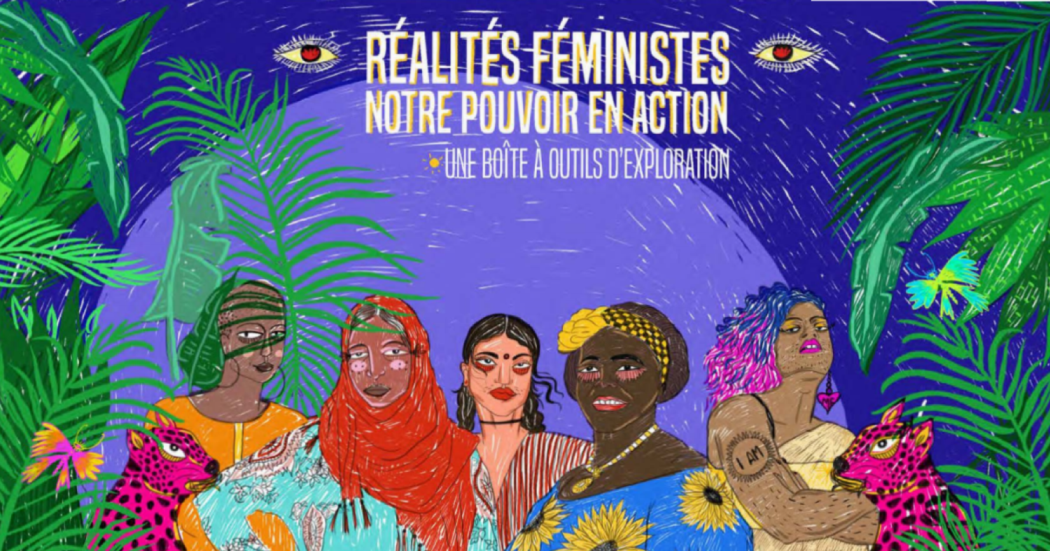 CFR Toolkit cover - banner - FR- Feminist Realities, our power in action