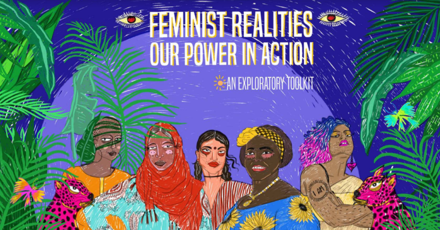 CFR Toolkit cover - banner - Feminist Realities, our power in action