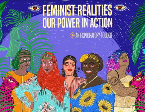 CFR Toolkit cover - Feminist Realities, our power in action (610x470)