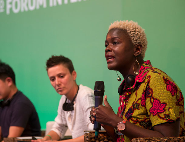 Co-creating Feminist Futures - AWID Forum 2016 - Plenary 2 (photo: Claudia Ferreira)
