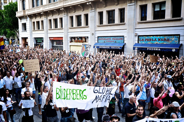 Protests against Bilderberg Club