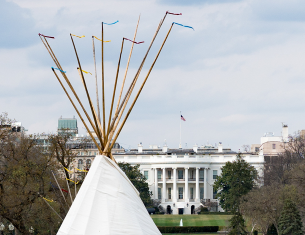 Native Nations Rise protest, Washington (610x470)