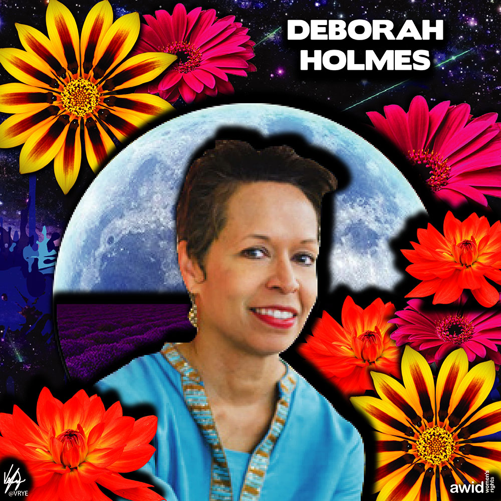 "<strong>Deborah </strong>was the Chief Communication and Engagement Officer at the Women's Funding Network (WFN).&nbsp;<br /><a href=""https://www.awid.org/whrd/deborah-holmes"" title=""WHRD: Deborah Holmes"">Read more &gt;</a>"