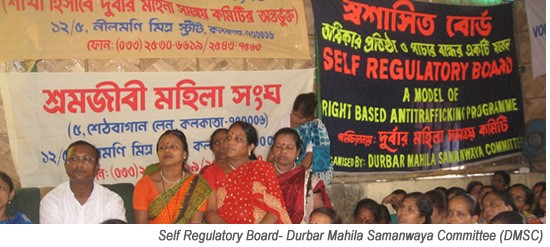 Self Regulatory Board for Sex Workers (Source: DMSC)