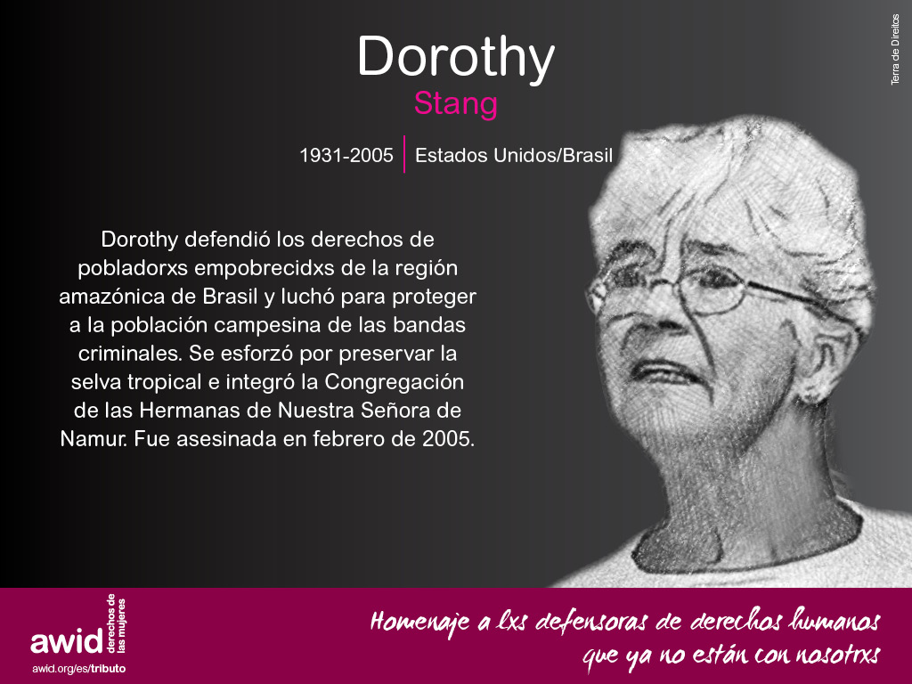 Dorothy Stang (SP)
