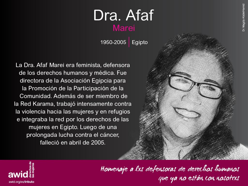 Dr. Afaf Marei (SP)