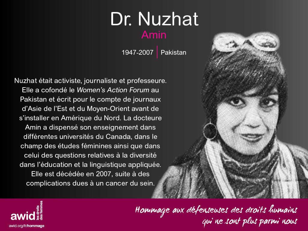 Dr. Nuzhat Amin (FR)