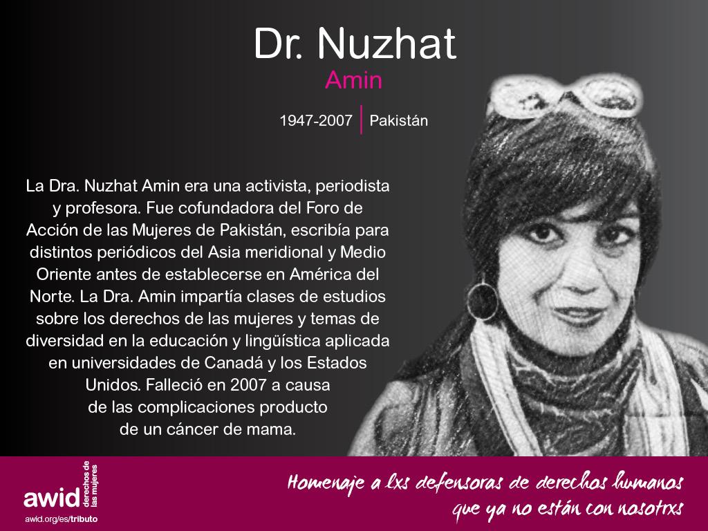 Dr. Nuzhat Amin (SP)