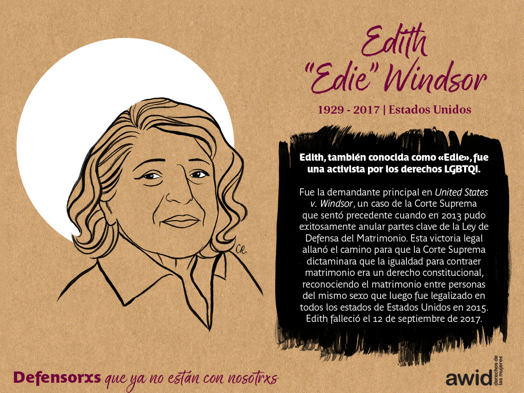 "Edith ""Edie"" Windsor (SP)"