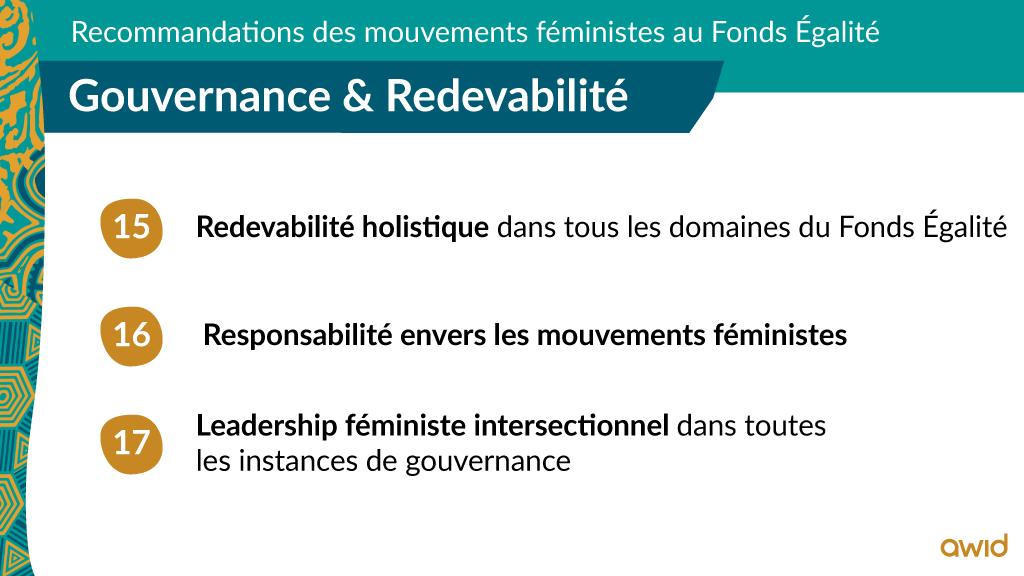 EF - Top line recommendations - FRA - Governance