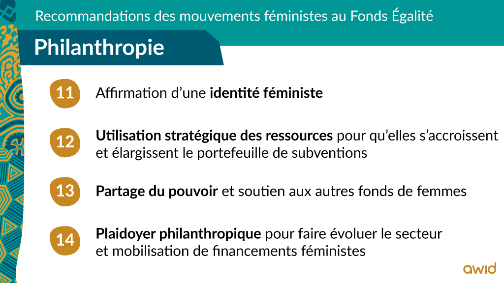 EF - Top line recommendations - FRA - Philanthropie