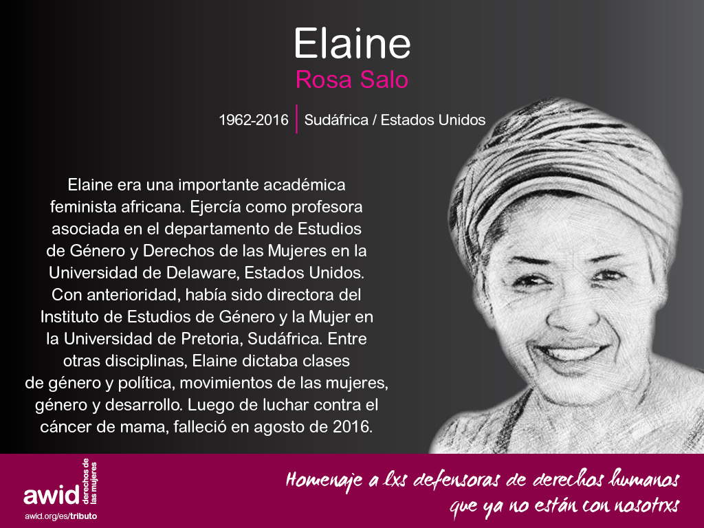 Elaine Rosa Salo (SP)