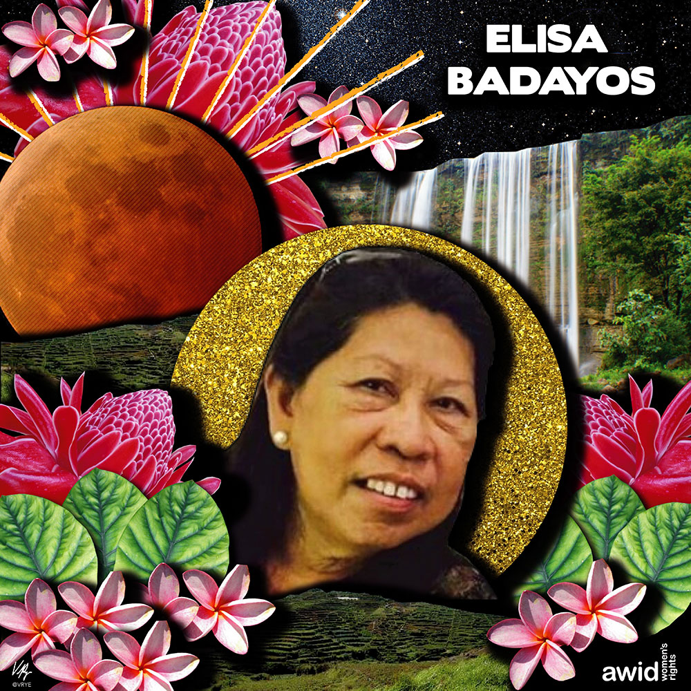 "<strong>Elisa </strong>was the coordinator for the human rights organization Karapatan in Negros Oriental Province in the Philippines.<br /><a href=""https://www.awid.org/whrd/elisa-badayos"" title=""WHRD: Elisa Badayos"">Read more ></a>"