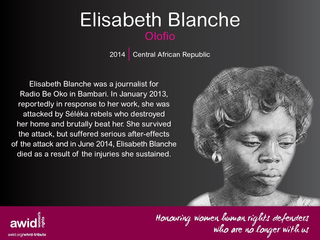 Elisabeth Blanche Olofio (ENG)