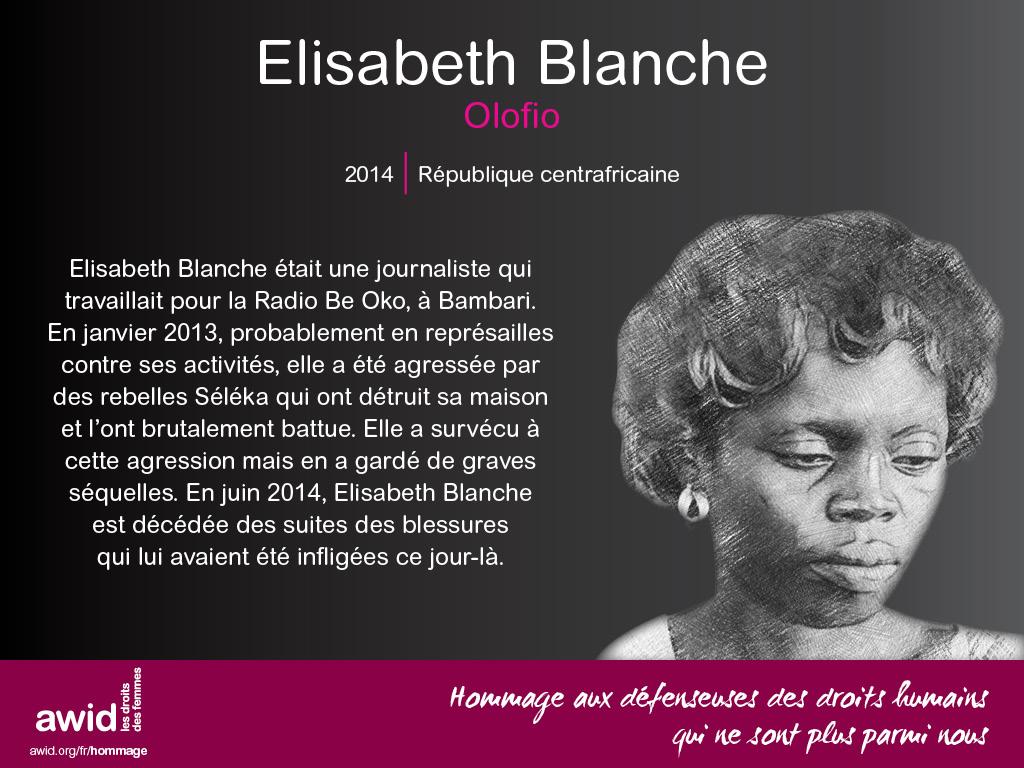 Elisabeth Blanche Olofio (FR)