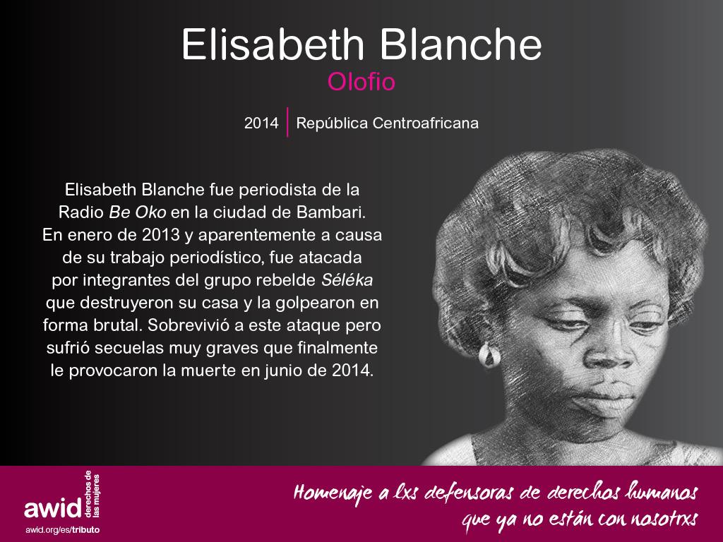 Elisabeth Blanche Olofio (SP)