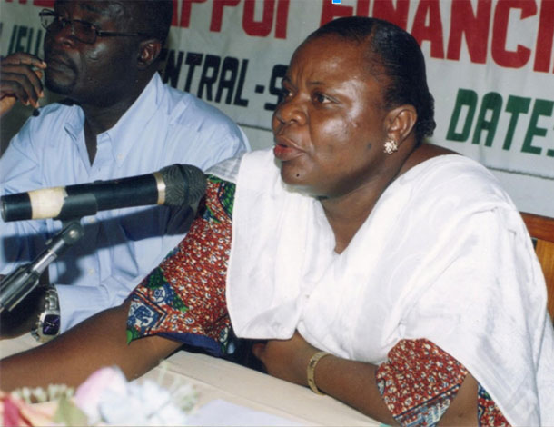 African activist from Togo: Elise Ama Esso Lare (610x470)