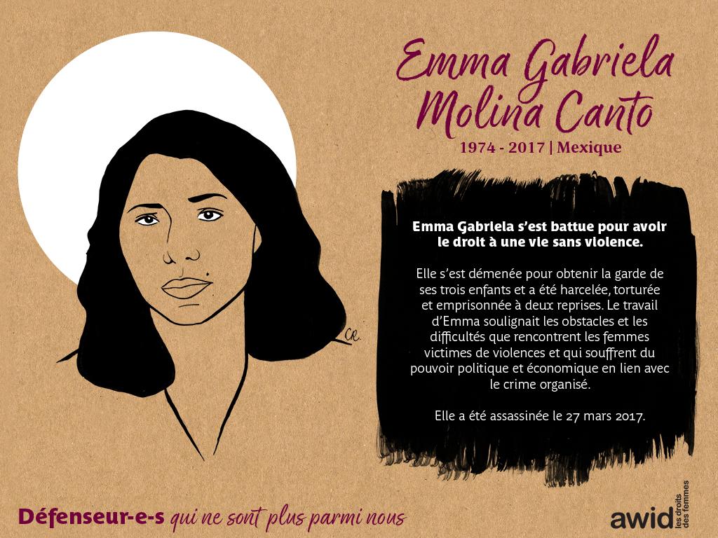 Emma Gabriela Molina Canto (FR)
